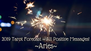 Aries *5th Dimension Connections!* ~ 2019 Tarot Forecast