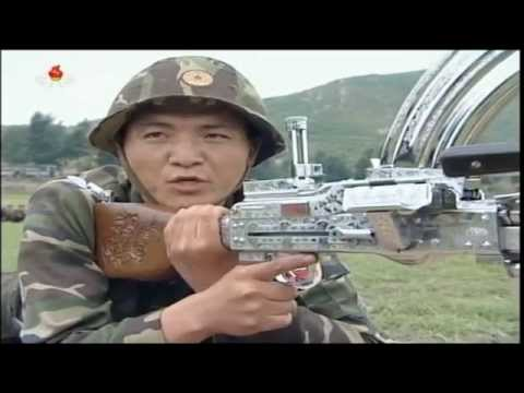 """North Koreans firing at """"U.S. Soldiers"""""""