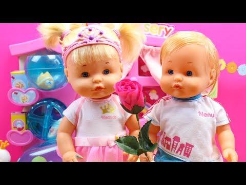 Historia de Amor de la Bebé Nenuco Hermanita Traviesa Naia y Dani - RECOPILACIÓN VÍDEOS 1ª Parte