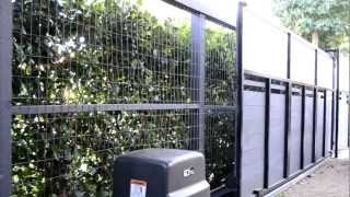 Driveway Gates Los Angeles, Santa Monica, Malibu - Automatic Gate Opener 310-601-6616