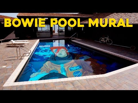 Ten Hundred - Bowie Pool Mural