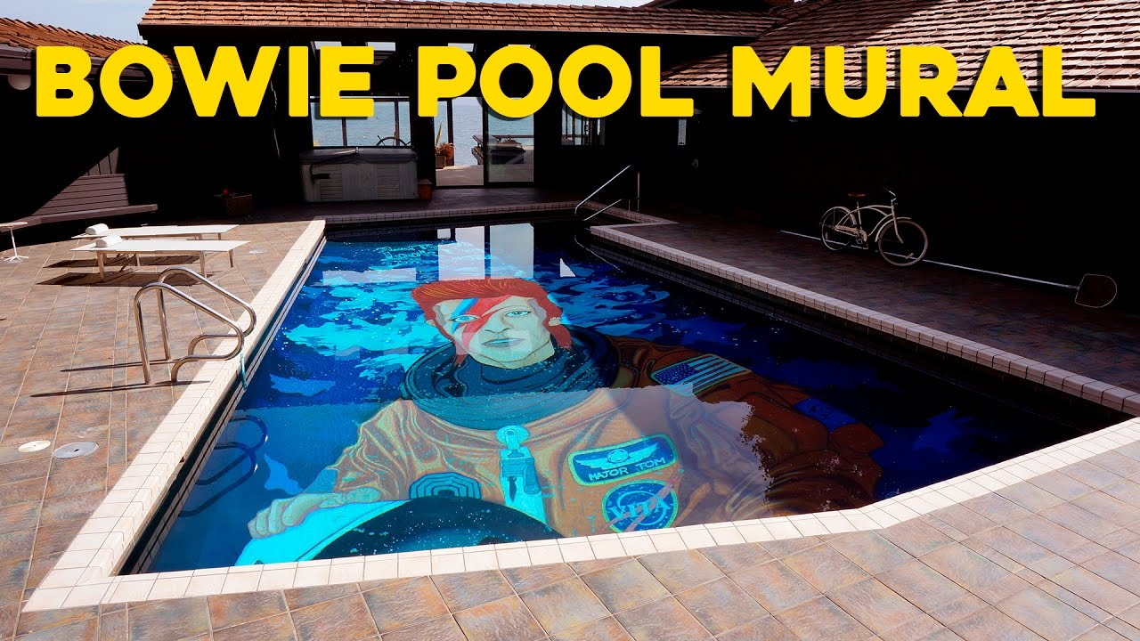 ten hundred bowie pool mural youtube