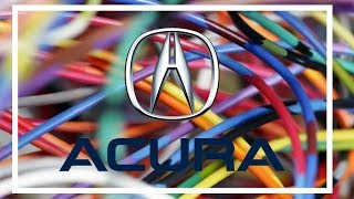 Acura Tsx Wiring Diagrams 1998 to 2016 - YouTube | Acura Tsx Radio Wiring Diagram |  | YouTube