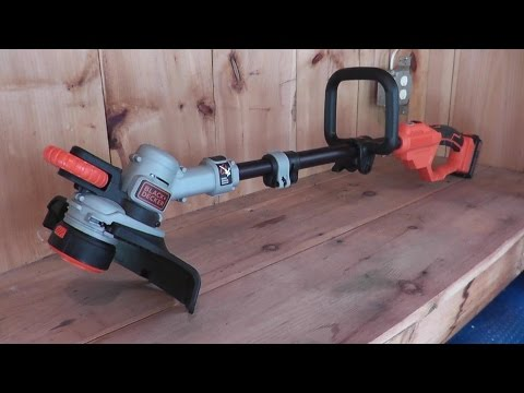 Black & Decker Cordless Edger and Trimmer 20v
