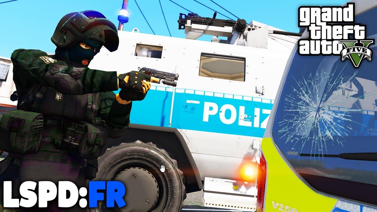GTA 5 LSPD:FR - TERRORISTEN gegen SEK / SWAT! - Deutsch - Polizei Mod #88 Grand Theft Auto V