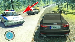 GTA 4 РОССИЯ - УГОН AUDI A8 2018 ПЕРВАЯ В РОССИИ! ПОГОНЯ!