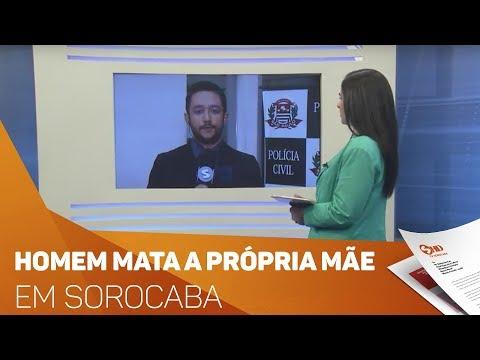 Homem mata a própria mãe em Sorocaba - TV SOROCABA/SBT