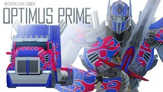 OPTIMUS PRIME(AOE) - Short Flash Transformers Series