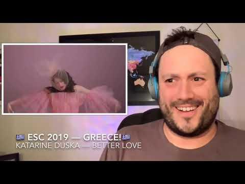 🇬🇷 ESC 2019 Reaction to GREECE!🇬🇷
