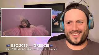 🇬🇷 ESC 2019 Reaction to GREECE!🇬🇷