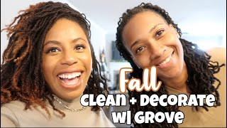New Fall Decorate + Clean w| Us!