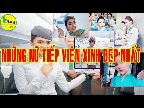 Những Nữ Tiếp Viên Hàng Không Xinh Đẹp Nhất Việt Nam