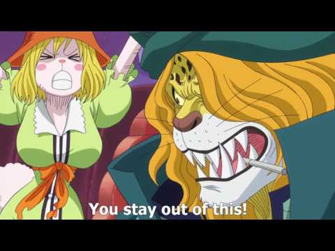 Pedro makes Carrot cry 3 times [ONE PIECE Episode 787]