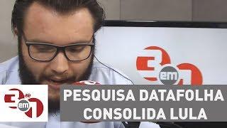 Pesquisa Datafolha consolida Lula na liderança na corrida presidencial