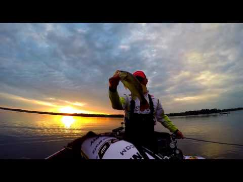 Fishing With Tyler Ep. 12 - Ohio BASS Nation, Mosquito Lake.