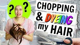 CHOPPING MY HAIR OFF!!!