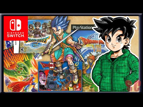 Dragon Quest Games - RANKED - Worst to Best