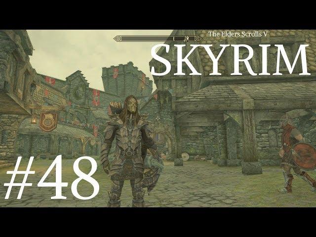 TES 5: Skyrim SE PL #48  Dumna Wieżyca i droga do Brumy