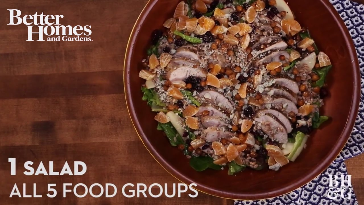 1 salad all 5 food groups youtube forumfinder Choice Image