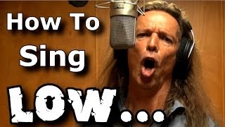 How To Sing LOW - Low Rider - War - Prevent Voice Cracks - Tips From Ken Tamplin Vocal Academy