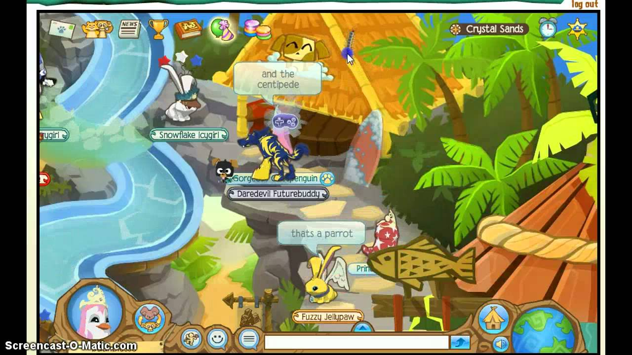 Image of: Views Youtube Animal Jam Crystal Sands Journey Book Youtube