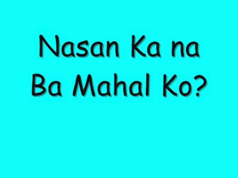 Namimis Kita Lyrics