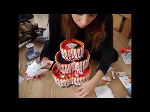 DIY II Kinderriegeltorte II Geburtstagsgeschenk  YouTube