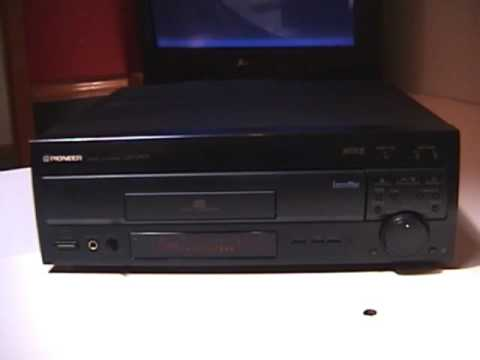 Laser Disc Player Pioneer CLD D503