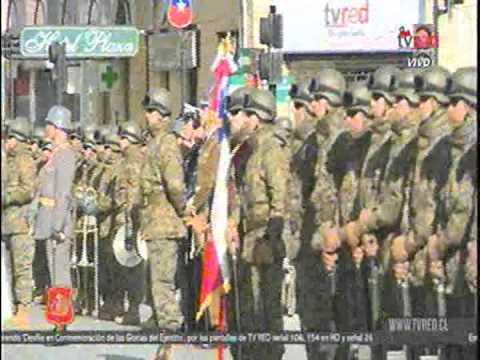 Parada Militar Punta Arenas Chile 19-09-2015