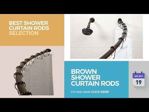 Brown Shower Curtain Rods Best Shower Curtain Rods Selection