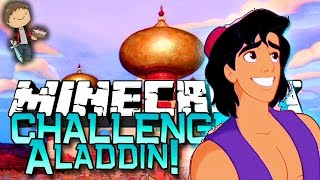 Minecraft: ALADDIN MOVIE CITY CHALLENGE! w/Bajan Canadian & Friends!