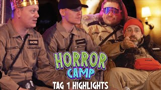 Horrorcamp mit Knossi & Sido - Tag 1 | Highlights