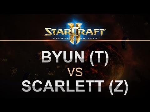 StarCraft 2 - Legacy of the Void 2017 - ByuN (T) v Scarlett (Z) on Daybreak