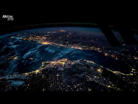 Earth From Space - ISS Time-lapse video: From Spain to Poland At Night