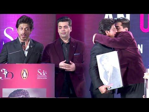 Shahrukh Khan's Full Speech On Karan Johar Which Made Him Emotional