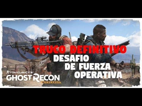 GHOST RECON WILDLANDS DESAFIÓ DE FUERZA OPERATIVA LA MEJOR FORMA DE HACERLO -TRUCO QUE NO CONOCES !