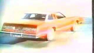 Ford Thunderbird commercial