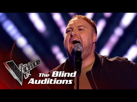 Michael Harrison Performs 'Last Request': Blind Auditions| The Voice UK 2018