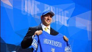 The Detroit Lions Draft TJ Hockenson