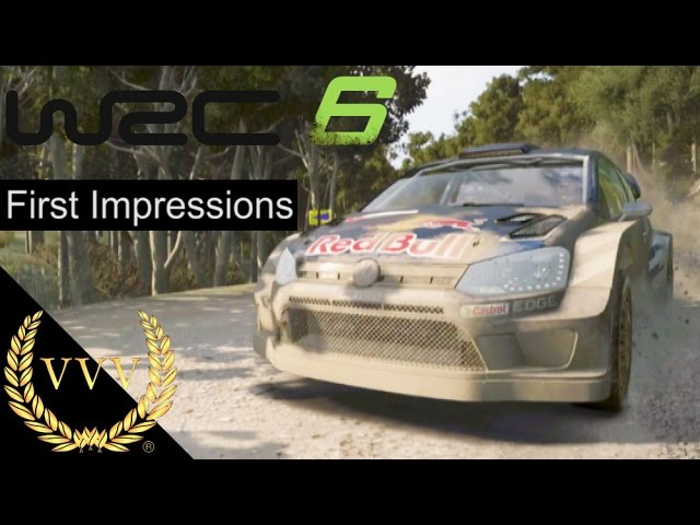 WRC 6 Portugal Stage & First Impressions