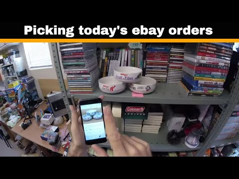How To Make Money On Ebay UK - Lets Pick Today's Orders... UK Reselling
