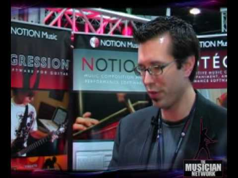 TMNTV - NAMM 2008 - Notion Music Software