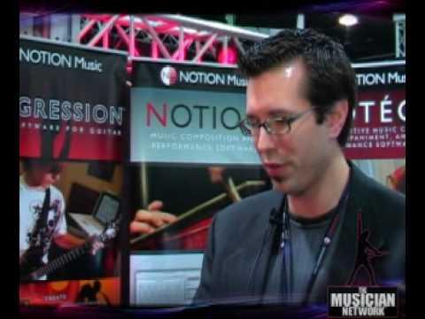 TMNTV - NAMM 2008 - Notion Music Software