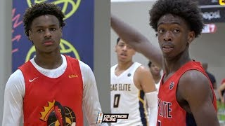 ZAIRE WADE and BRONNY JAMES are TEAMING UP in HS! LeBron and Dwayne Wade's Legacy Continues!