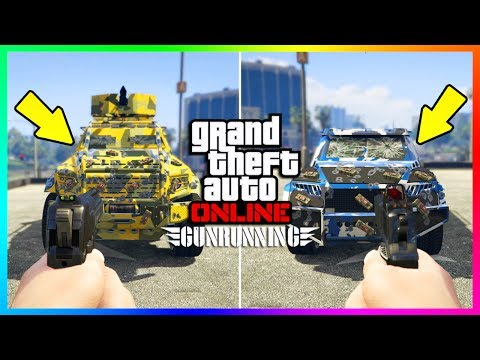 Make GTA 5 DLC NEW BULLETPROOF & ARMORED CAR TESTS - NIGHTSHARK VS INSURGENT CUSTOM VS TECHNICAL CUSTOM! Snapshots