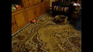 Испытания автоматического домашнего робота ver 0.1