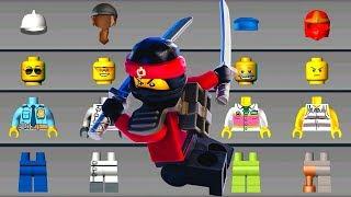 LEGO NINJAGO Build Ninjago Helicopter & Monster Trucks - LEGO Juniors Create & Cruise