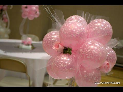Como adornar con globos para 15 a os youtube for Ornamentacion para 15
