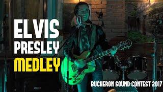 Elvis Presley Medley - Federico Borluzzi live at Bucheron Sound Contest 2017