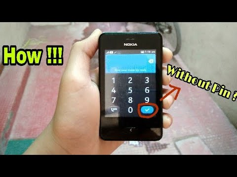 How To Unlock NOKIA ASHA 501 !!! Without Security Code ???